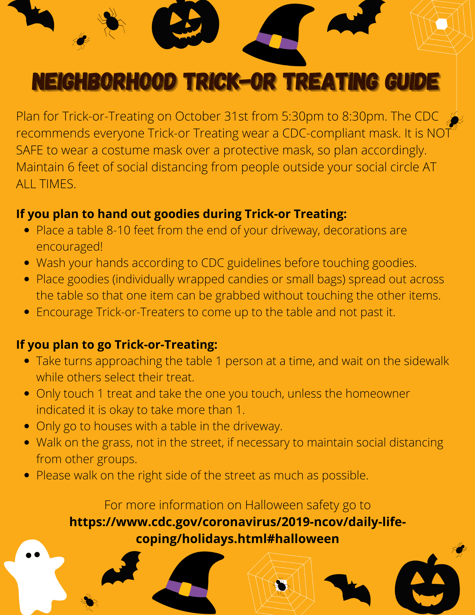 Trick or Treating Guidelines