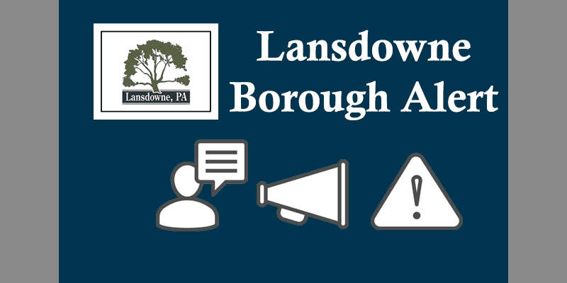 lansdowne Borough General Alert