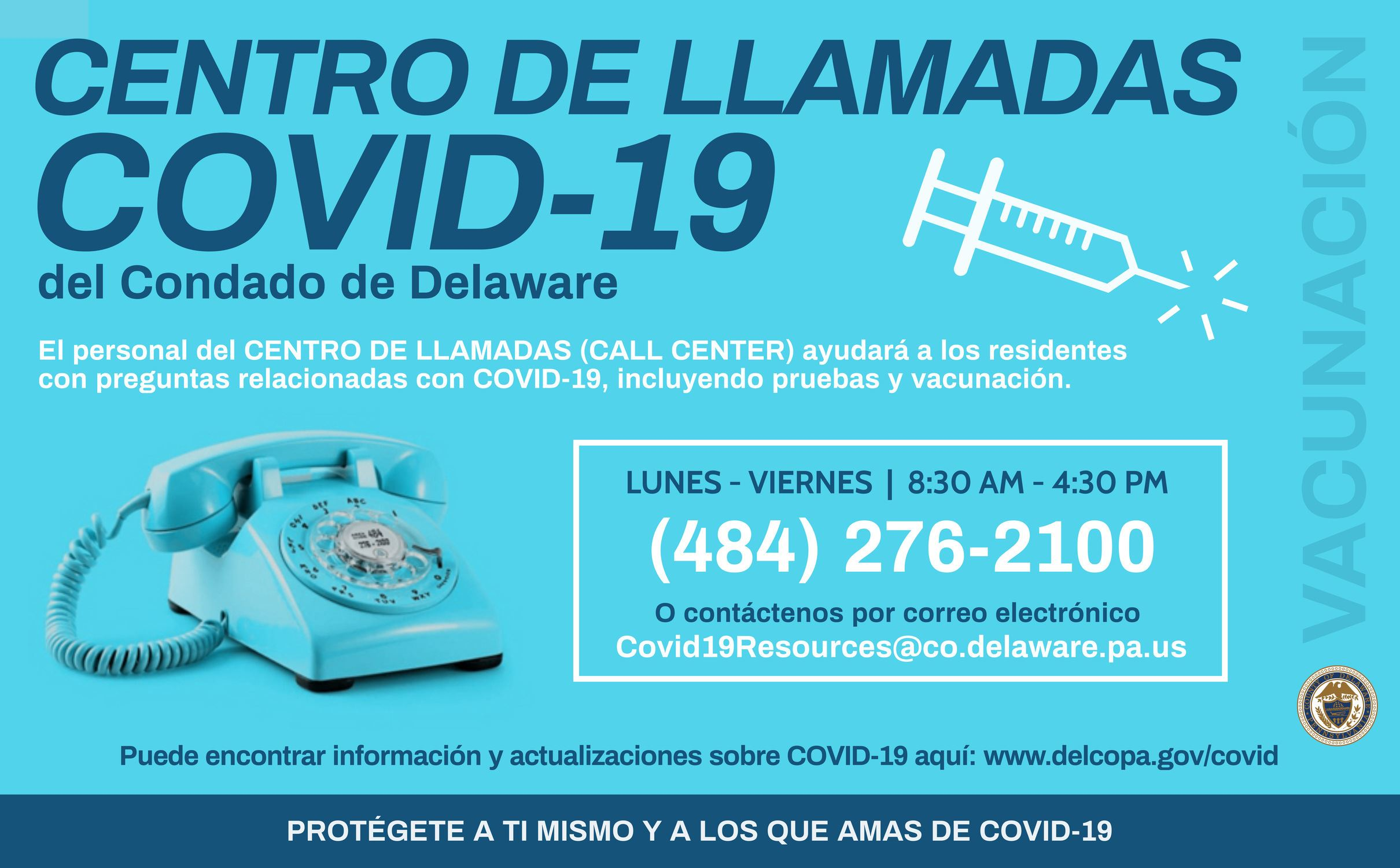 Covid-19 Call Center Flyer Spanish (High Res)
