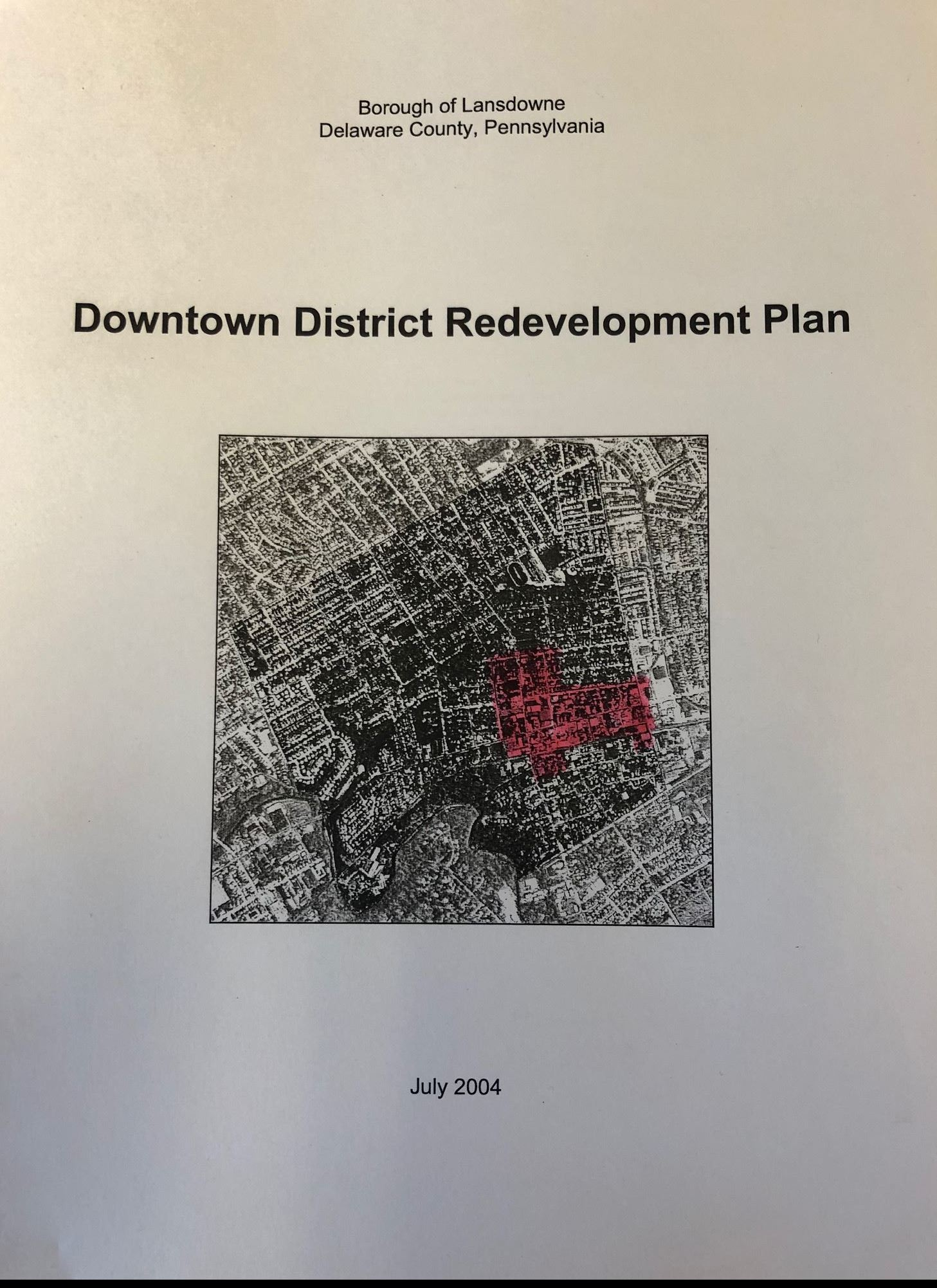 DowntownRedevelopmentPlanCover